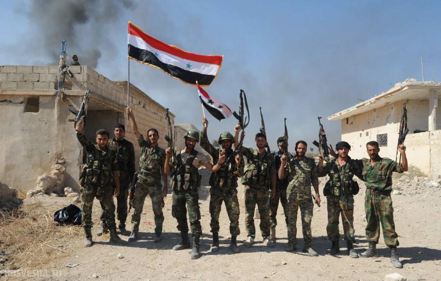 """Боевики в Сирии почти потеряли свою """"столицу"""""""