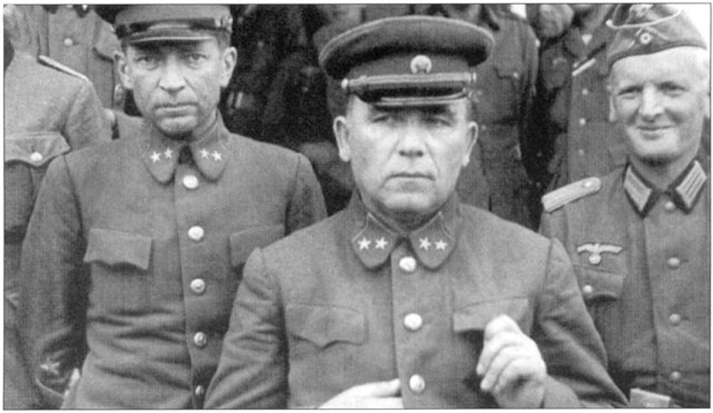 Попавшие в плен в период в ов генералы