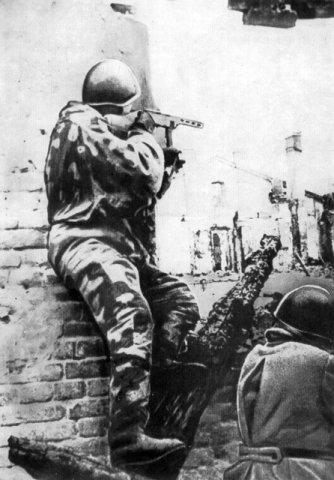 Группы ведут бой в городе 1944 45гг