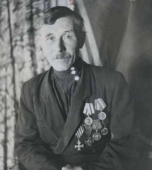 Георгиевский кавалер Едренкин Григорий Дмитриевич (1).