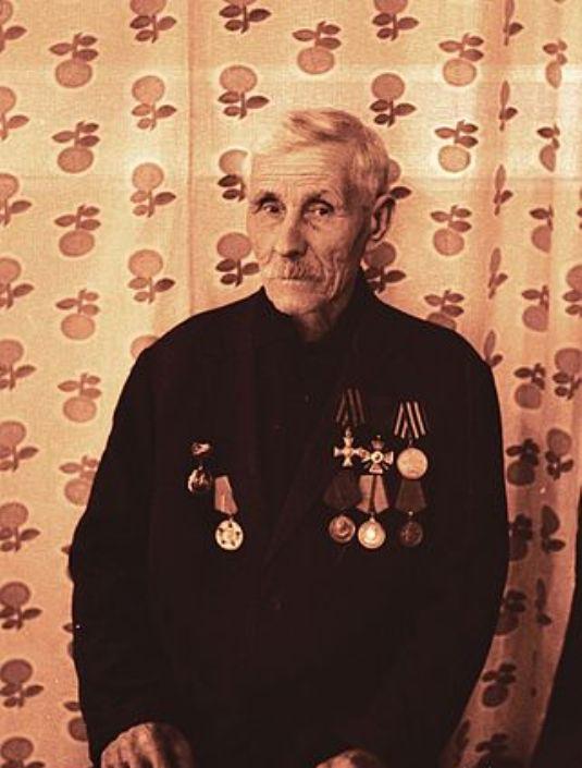 Георгиевский кавалер Едренкин Григорий Дмитриевич (2).