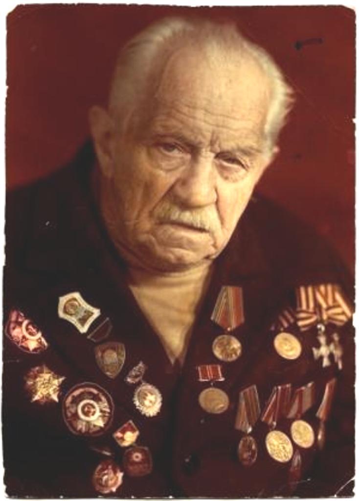 Георгиевский кавалер Порай-Кошиц Николай Владимирович (1893-1990).