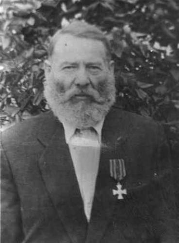 Георгиевский кавалер Турко Григорий Моисеевич. Рядовой 400-го Хортицкого пехотного полка.