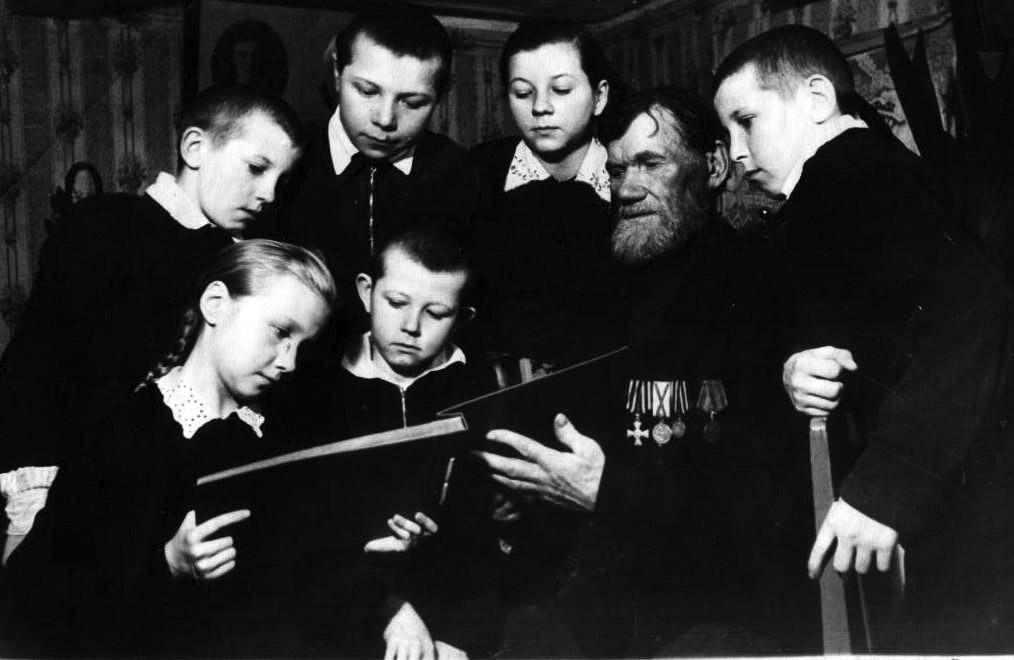Моряк-ветеран крейсера «Варяг» Шутов Иван Никифорович (3)