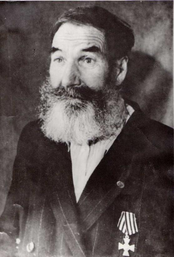 Моряк-ветеран крейсера «Светлана» Емельянов Николай Семенович (1879-1966 гг)