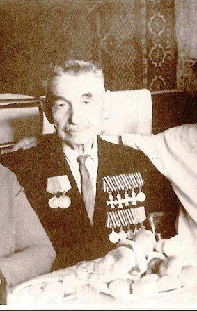 Полный Георгиевский кавалер Самсонов Яков Иванович (1876-1967гг).