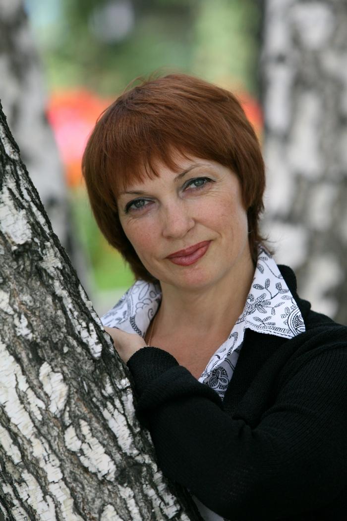 Галина Евдокимова спустя два года после аварии (фотография для