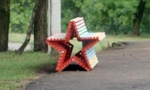 осл2 скамейка
