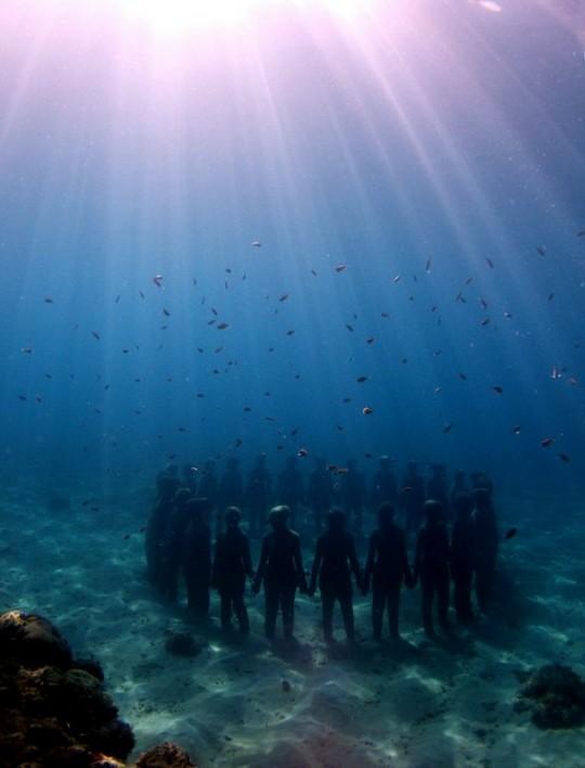 подводный парк скульптур1
