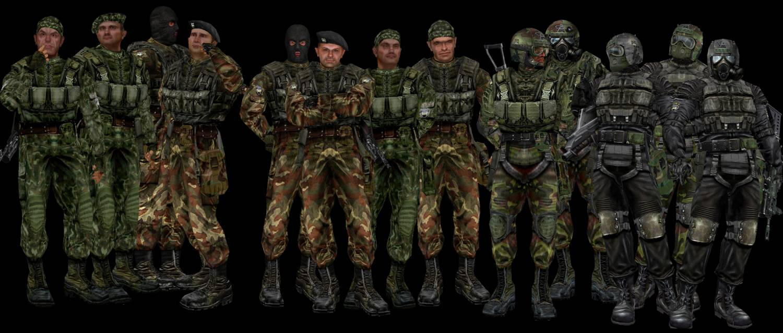 Сталкер военные картинки