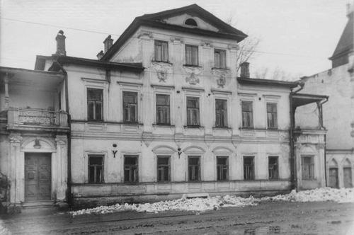 Так выглядел дом А. Ф. Евланова. Большая Печёрская 31.