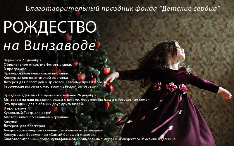 РОЖДЕСТВО НА ВИНЗАВОДЕ, Благотворительная выставка