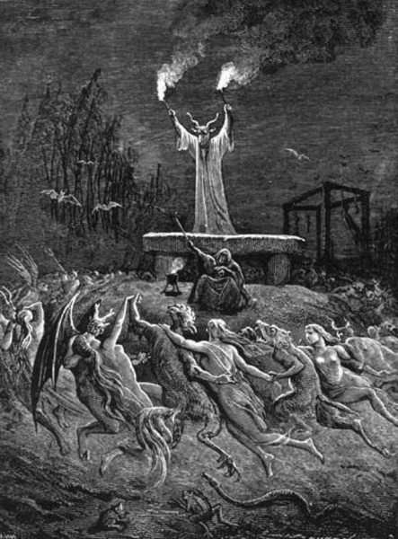 1-ое мая Вальпургиевая ночь