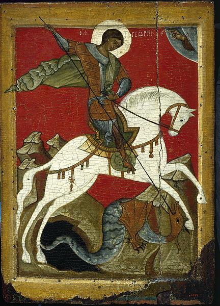 432px-Чудо-Георгия-о-Змие-(икона)