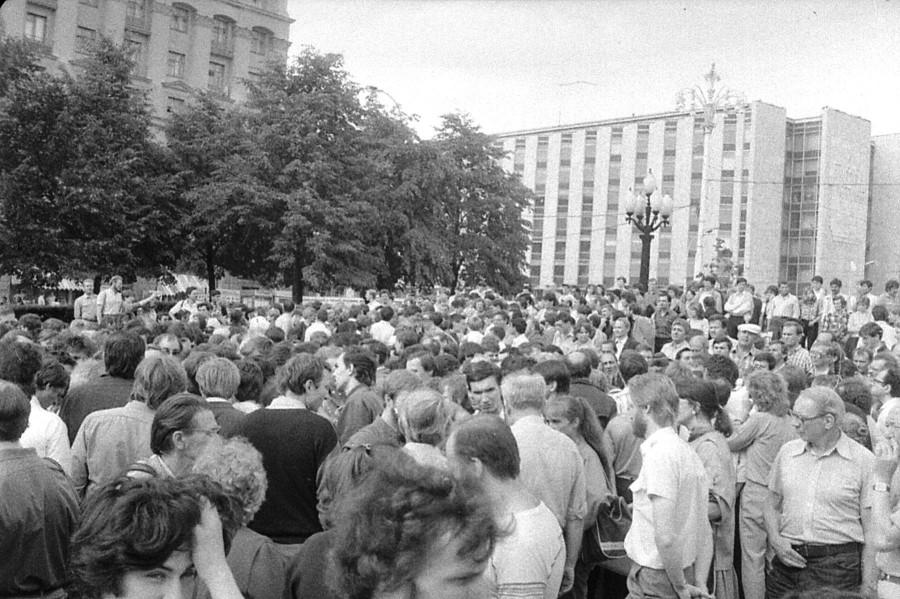 лето 1988 год, Пушка