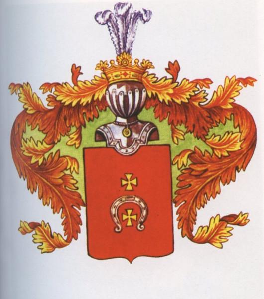 Герб рода Хомяковых