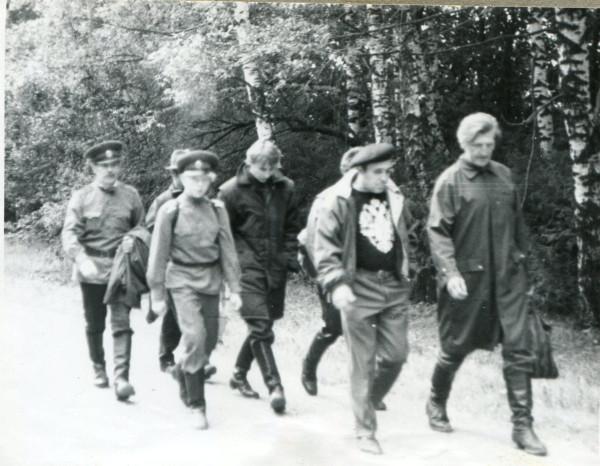 02.09.1990г.В дороге от электрички до Бородино