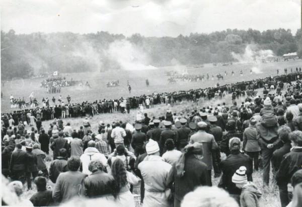 2 сентября, воскресенье, 1990 года. Общий вид панорамы сражения