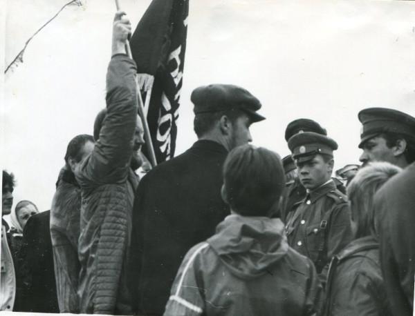 Встреча патриотов-реконструкторов по пути к Бородино