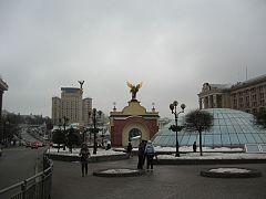 Площадь незаивисимости в Киев