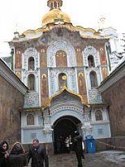 Ворота на входе в Киево-Печерскую Лавру