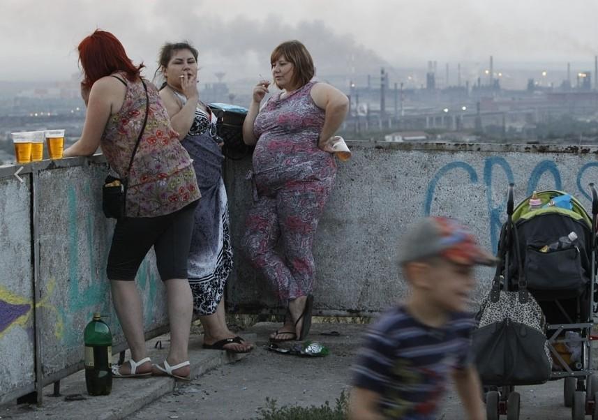 женщины курят