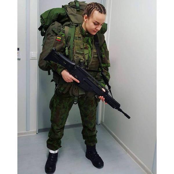 Женщины-военнослужащие