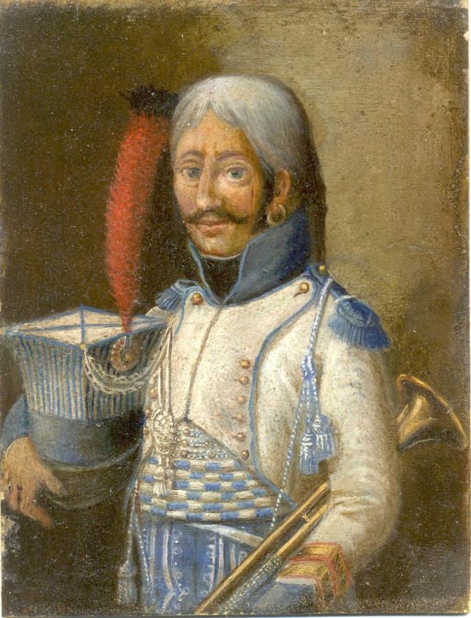 5-й гусарский портрет унтер-офицера горнистов - копия