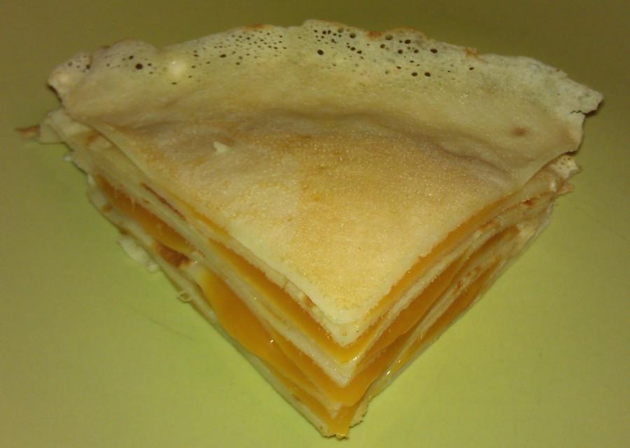 cheese blinny karavay