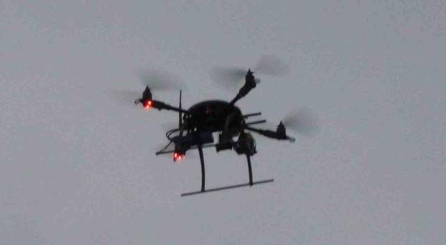 Это летало над Водоотводным каналом во время митинга на Болотной площади