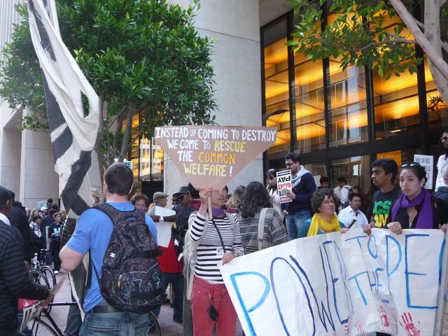 Митинг в Сан-Франциско