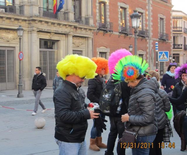 Мадрид, подготовка к Новому году