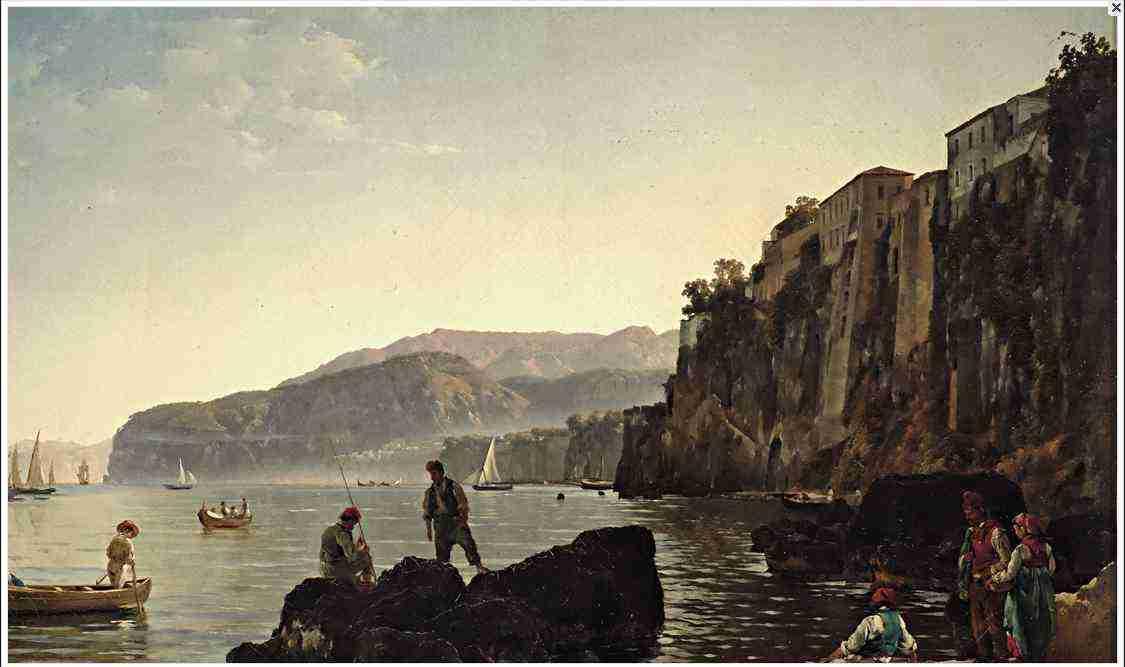 2 Щедрин. Малая гавань в Сорренто LJ