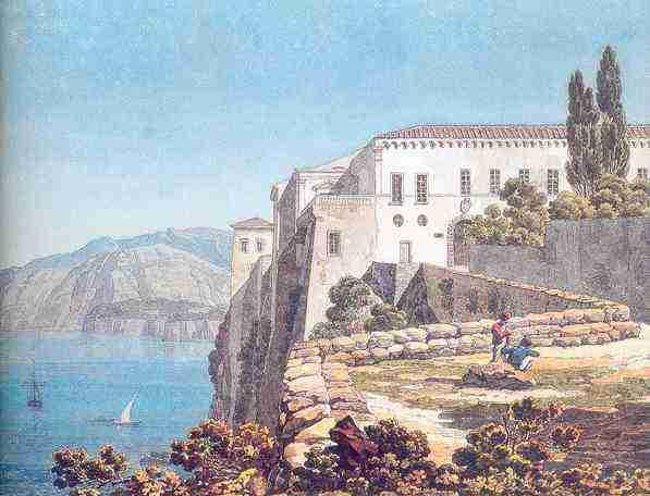 4 Брюллов  А. Дом Торквато Тассо в Сорренто. 1824 LJ