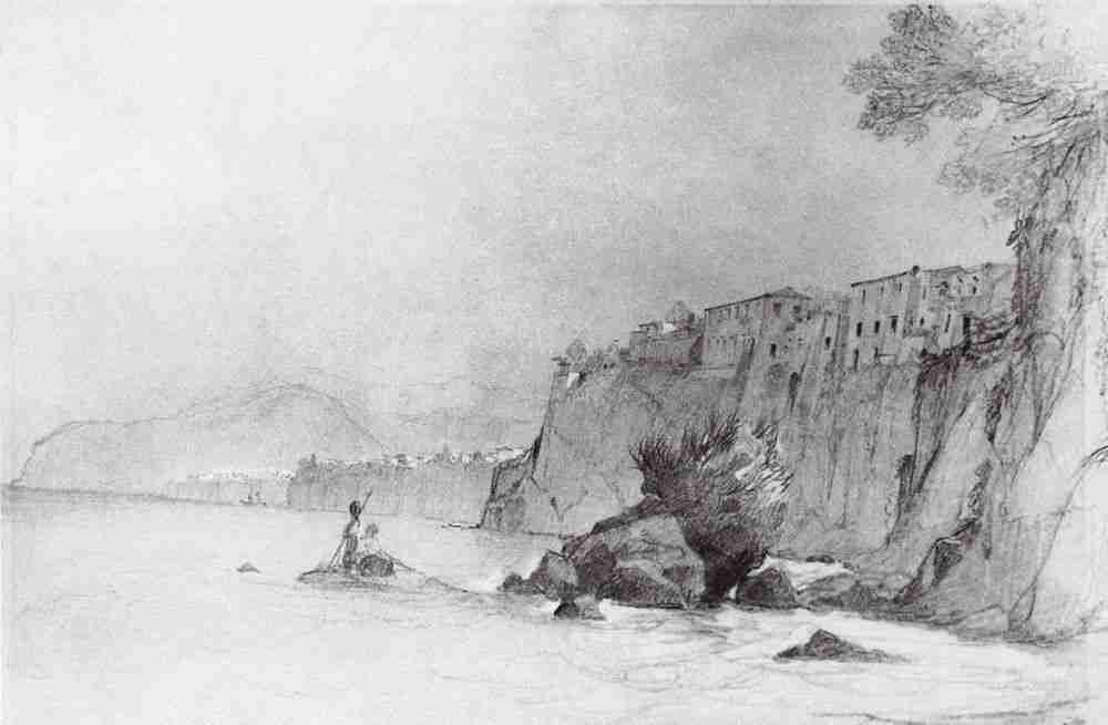 5 Айвазовский. Сорренто. 1840-е LJ