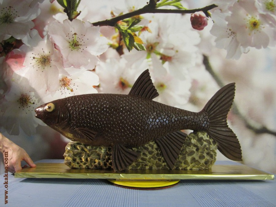 Рыба из шоколада