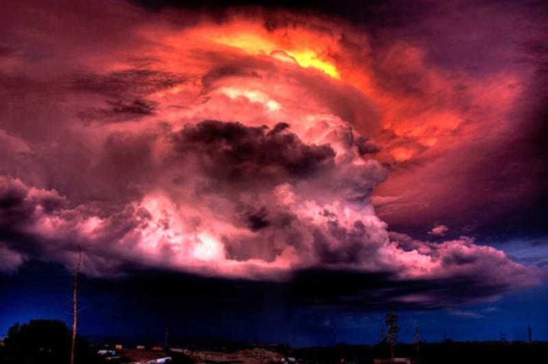 Кучево-грозовое облако