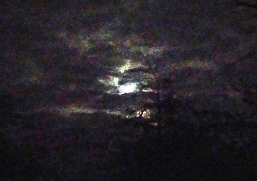 Лунная акварель