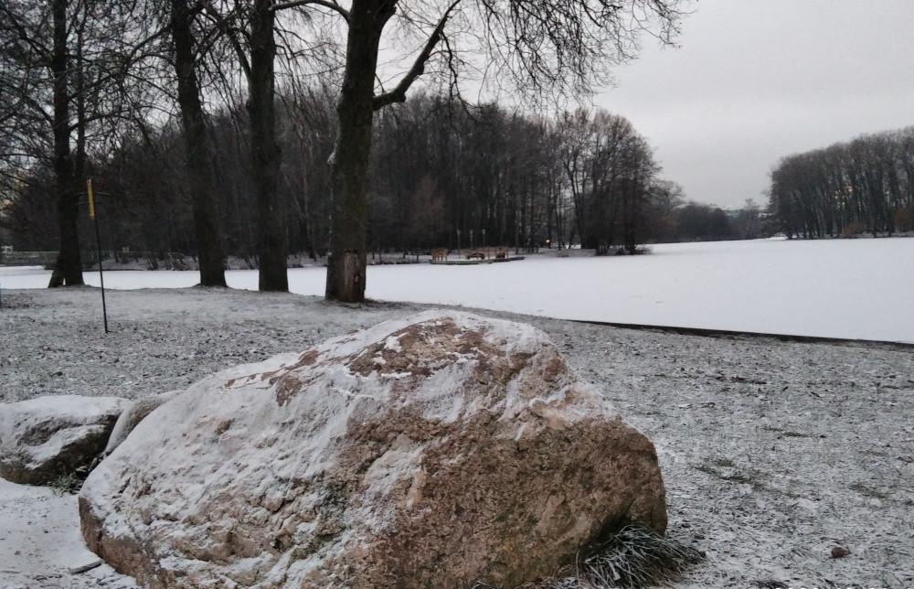 Камень, под который вода не течёт)