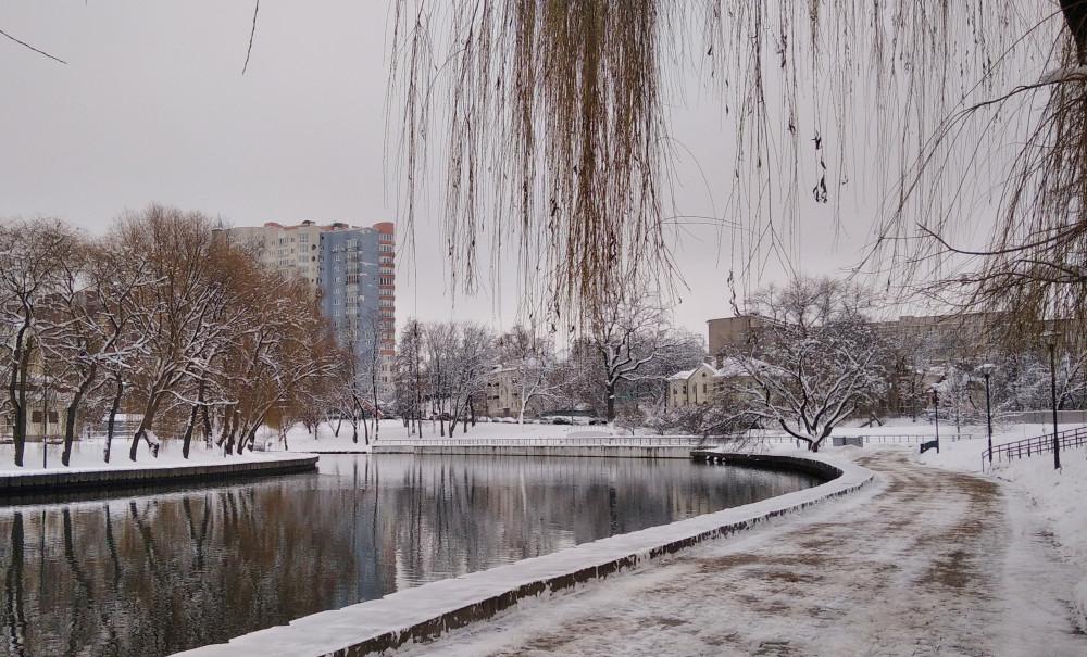Видна застройка по ул. Оранской