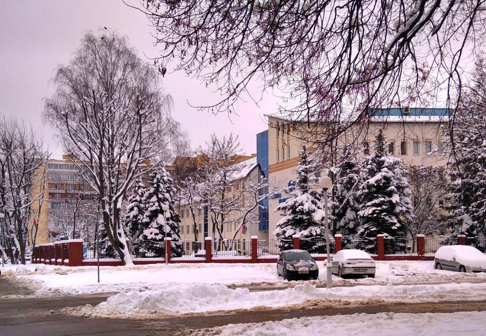 Здание Минскводоканала