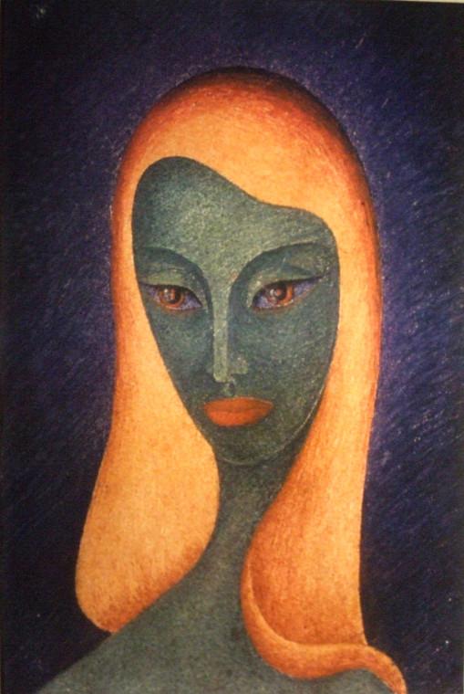 Царица Савская (пастель)
