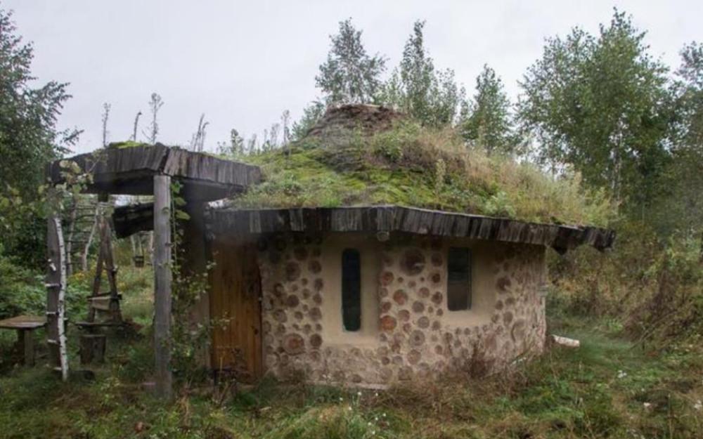 Глиночурковый дом