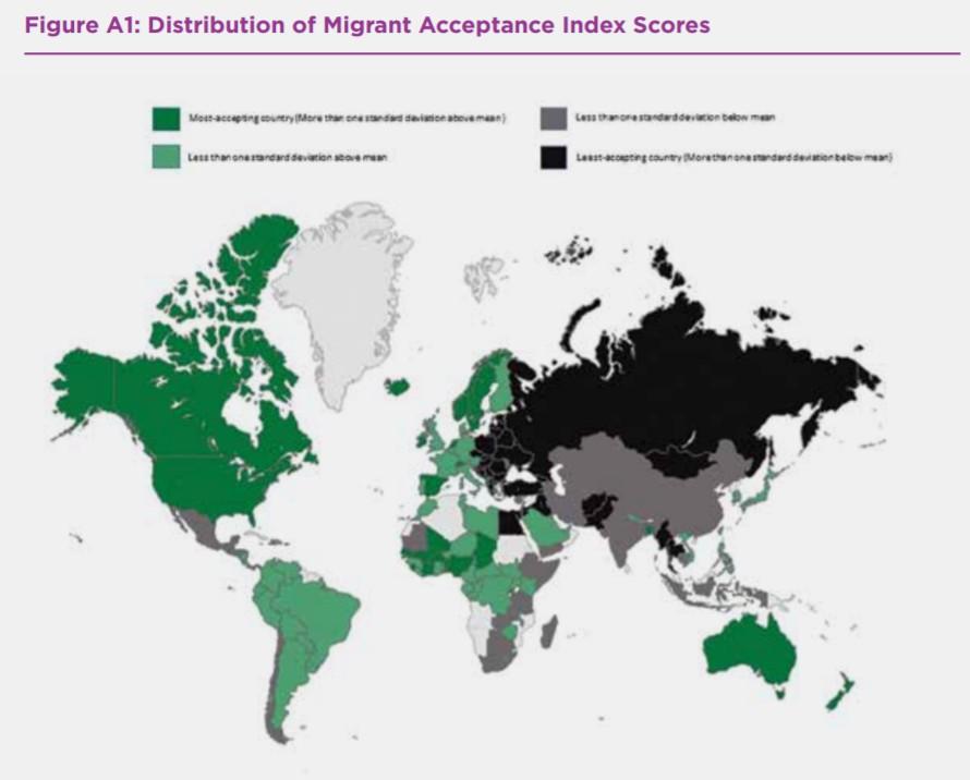 страны доноры и акцепторы