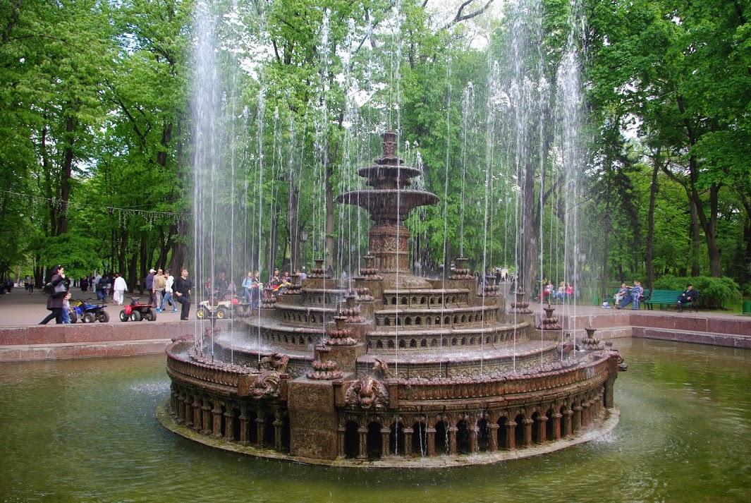 фонтан в Кишиневе