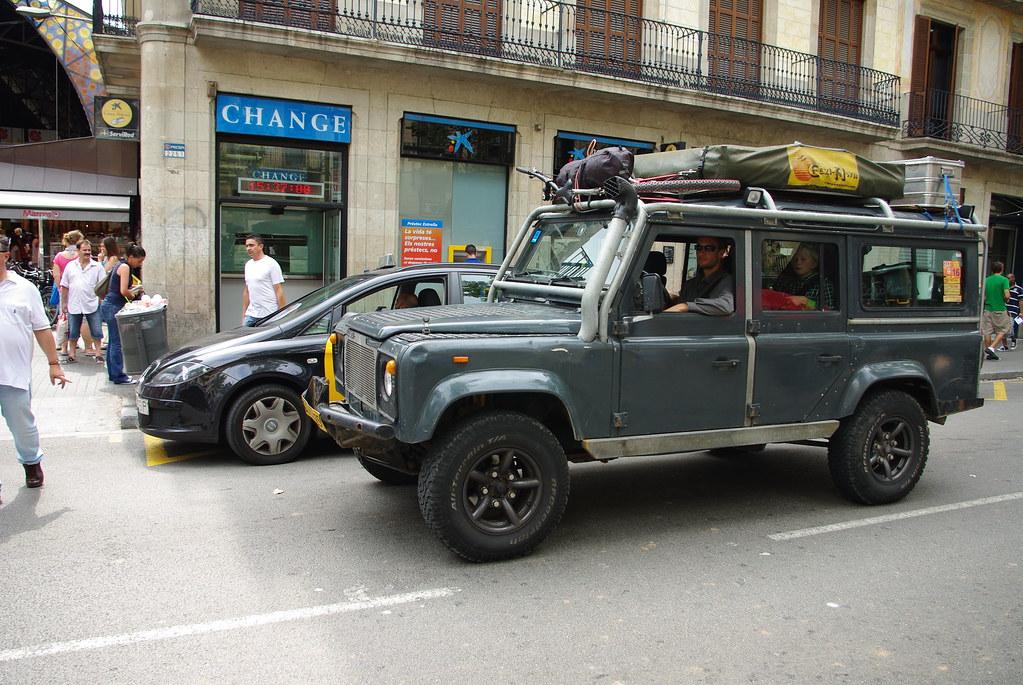 Рамбла в Барселоне