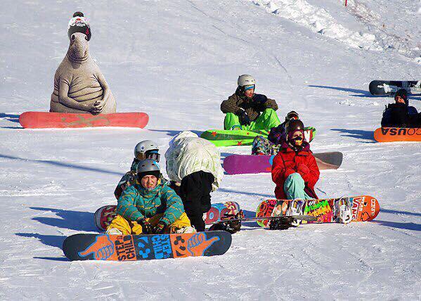 ждун-сноубордер