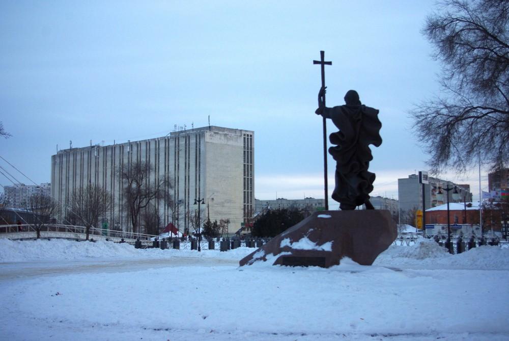 Харьков, февраль 2017, набережная Стрелка