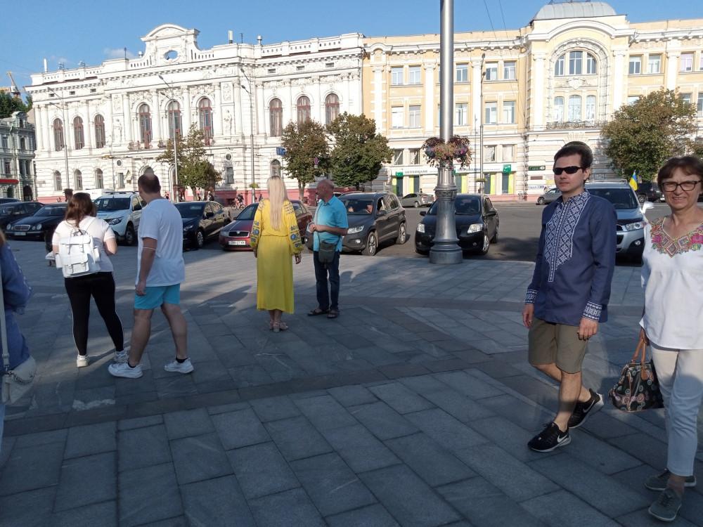 «день флага в Харькове