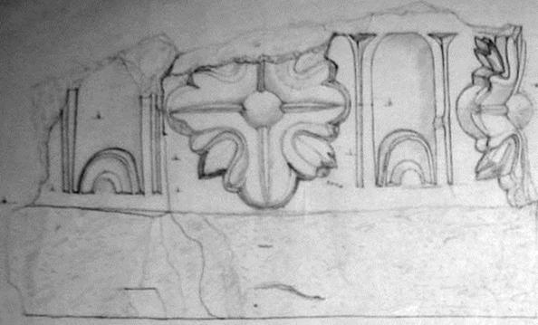 7.3. Фрагмент капители северного портала. 1530 г.